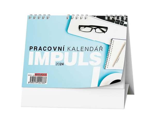 Stolní kalendář - Pracovní kalendář IMPULS I
