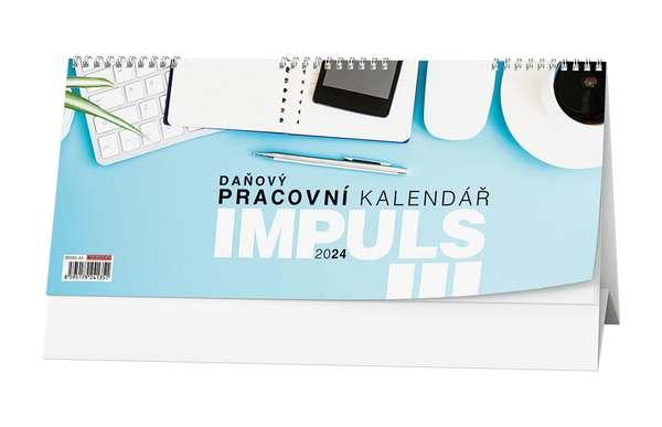 Stolní kalendář - Pracovní kalendář IMPULS III