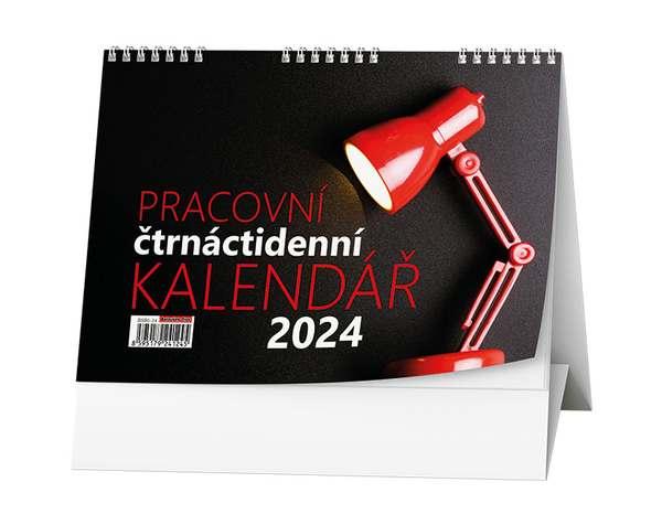 Stolní kalendář - Pracovní čtrnáctidenní