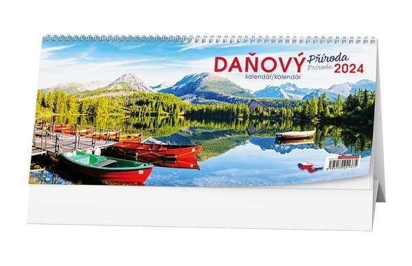 Stolní kalendář - Pracovní daňový kalendář - Příroda