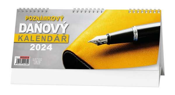Stolní kalendář - Poznámkový daňový kalendář