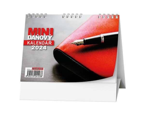 Stolní kalendář - Mini daňový kalendář RED