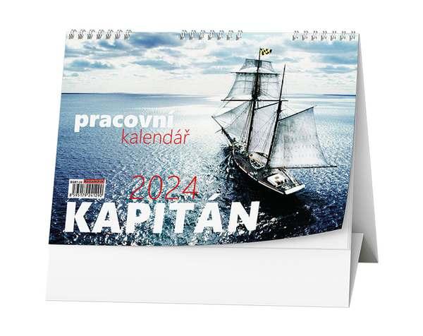 Stolní kalendář - Kapitán