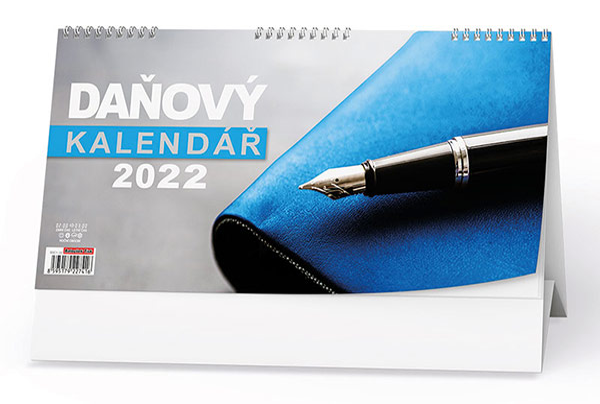 Stolní kalendář - Daňový kalendář