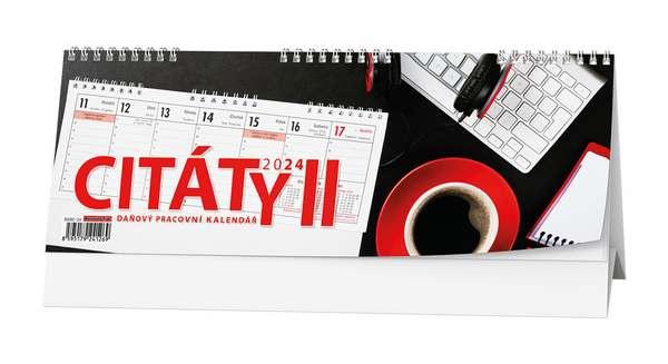 Stolní kalendář - Pracovní kalendář CITÁTY II