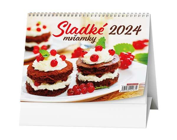 Stolní kalendář - Sladké mňamky