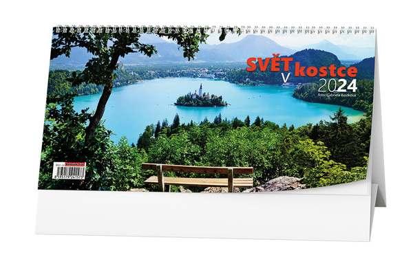 Stolní kalendář - Svět v kostce