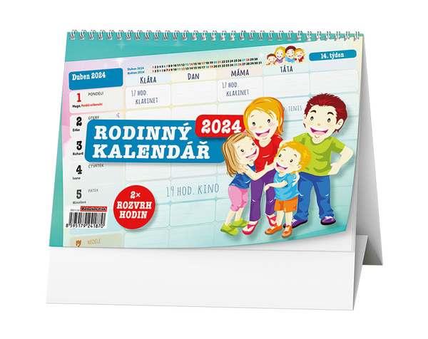 Stolní kalendář - Rodinný kalendář