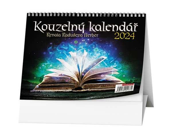 Stolní kalendář - Kouzelný kalendář (Renaty Raduševy Herber)