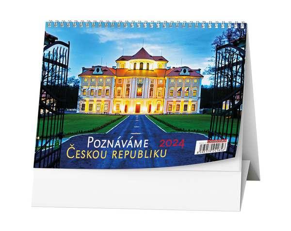 Stolní kalendář - Poznáváme Českou republiku