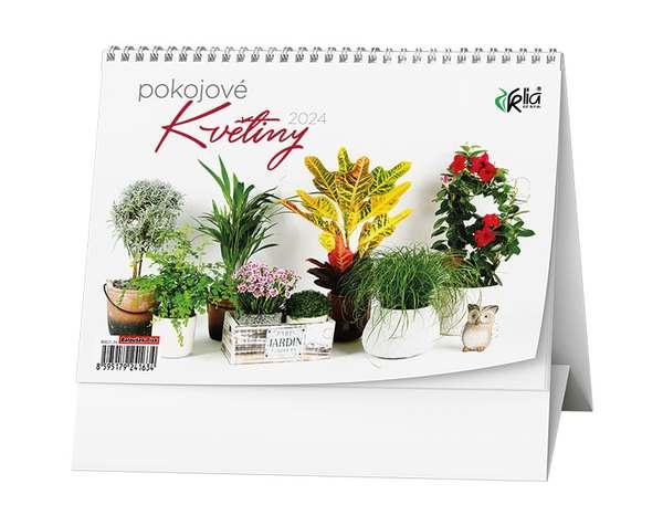 Stolní kalendář - Pokojové  květiny