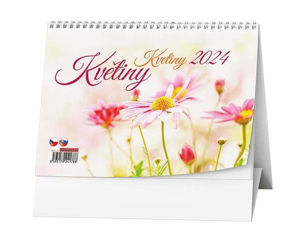 Stolní kalendář - Květiny