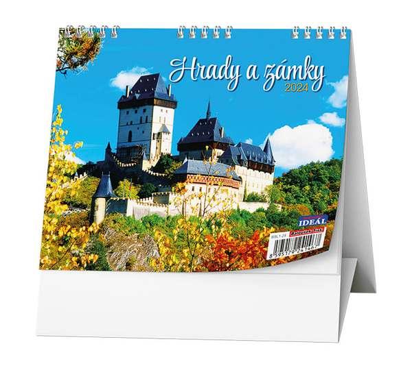 Stolní kalendář - IDEÁL - Hrady a zámky
