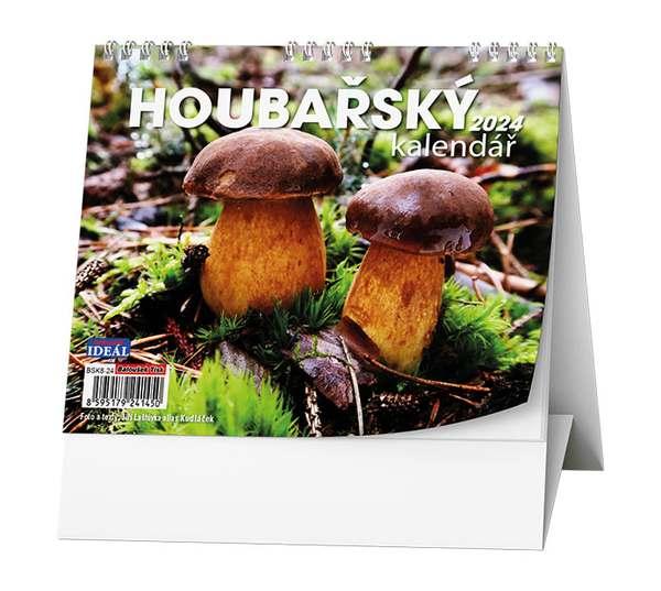 Stolní kalendář - IDEÁL - Houbařský kalendář