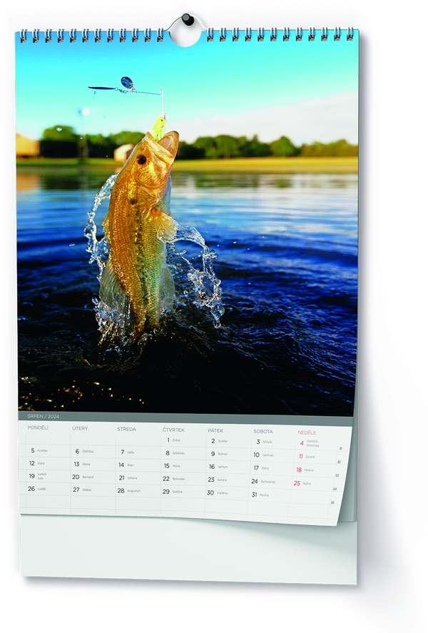 Nástěnný kalendář A3 - Rybářský